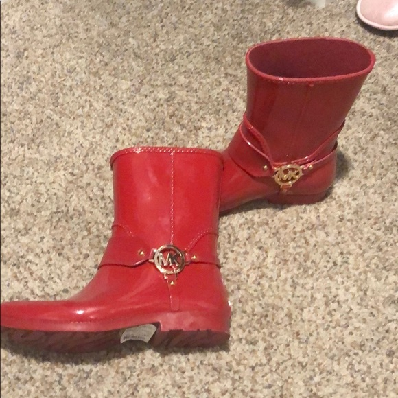Michael Kors Shoes | Red Michael Kors